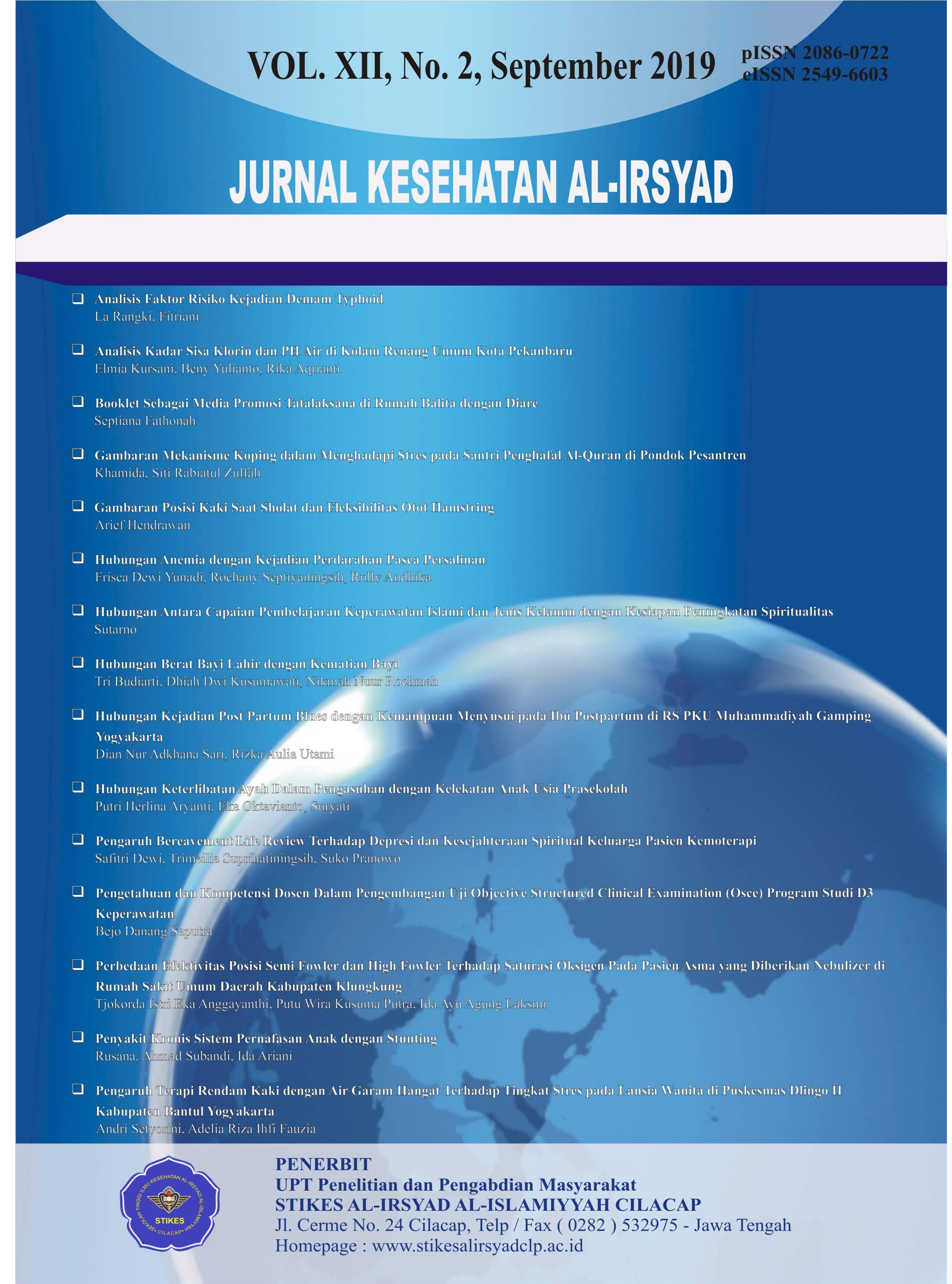 Jurnal Kesehatan Al Irsyad